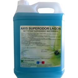 Nettoyant bactéricide multisurfaces lagon Axis Superodor à diluer 5L