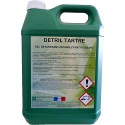 Gel détartrant désinfectant puissant Detril tartre 5L