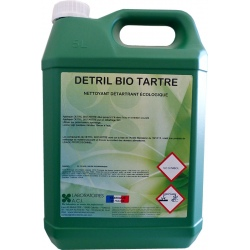 Nettoyant détartrant écologique Detril Bio Tartre à diluer 5L