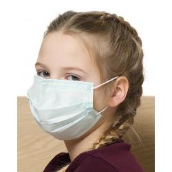 Lot de 3000 masques enfants jetables à élastique 3 plis