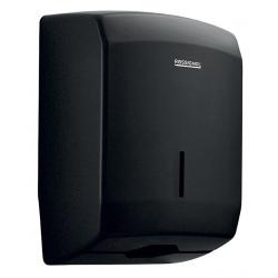 Distributeur d'essuie-main Design 400 feuilles inox gris manganèse