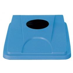 Lot de 6 couvercles bleu pour collecteur tri selectif 60 L et 80 L