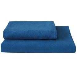 Lot de 50 Serviettes lavable eco microfibre bleu 40x90 cm