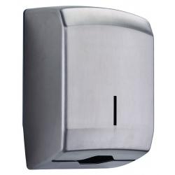 Distributeur d'essuie-main Design 400 feuilles inox AISI 304 brossé