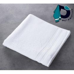 Drap de bain Soft 100% coton blanc 450 g 70x140 cm (le lot de 5)