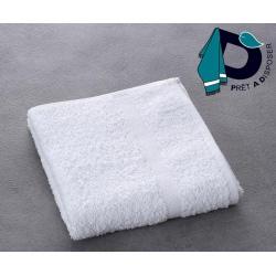 Serviette de toilette Eden 100% coton blanc 400 g 50x90 cm (le lot de 10)