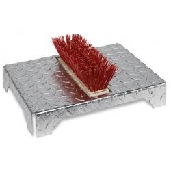 Nettoyeur à chaussure 1 brosse surface antidérapante