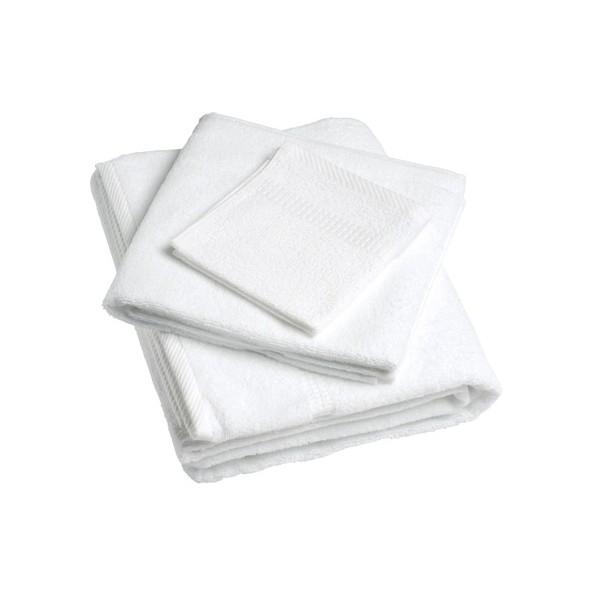 Lot de 156 serviettes invités 30x30cm fil simple 400g