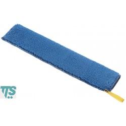Frange en microfibre bleue 40x9cm