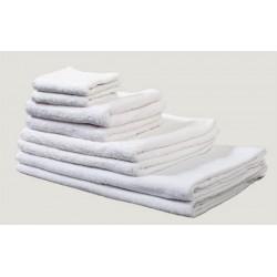 Serviette invité 30x50 cm coton blanc 420 g