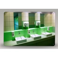Miroir de sanitaire incassable Plexichok 400x600 mm
