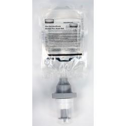 Lot de 5 recharges désinfectant avec alcool mousse 500 ml pour distributeur Rubbermaid Flex