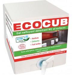 Lot de 2 nettoyants ecocub sanitaires Ecolabel Action Verte 10L