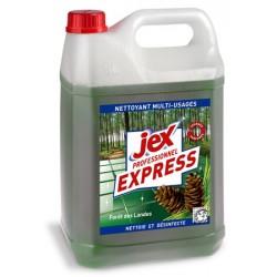 Lot de 4 bidons 5L desinfectant triple action forêt des Landes Jex Pro Express