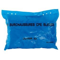 Paquet de 50 surchaussures cpe bleu