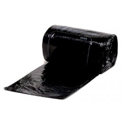 Carton de 10 rlx de 10 housses container 330L bd 30 microns noir