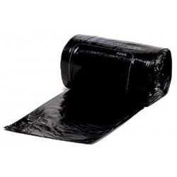 Carton de 100 housses container 750L bd 20 microns noir