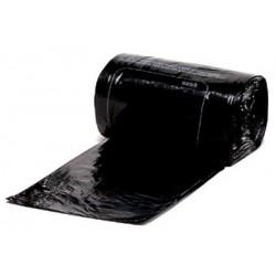 Carton de 200 housses container 330L bd 20 microns noir