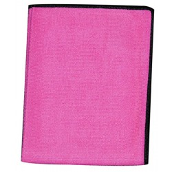 Lot de 5 lavettes micro-classic evolution 30 x 40 cm rose