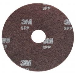 Disque 3M 406 spp décapage sols thermoplastiques marron