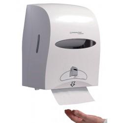 Distributeur électronique essuie mains rlx Kleenex blanc