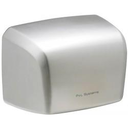 Sèche-mains à grande vitesse 1000 W inox brossé